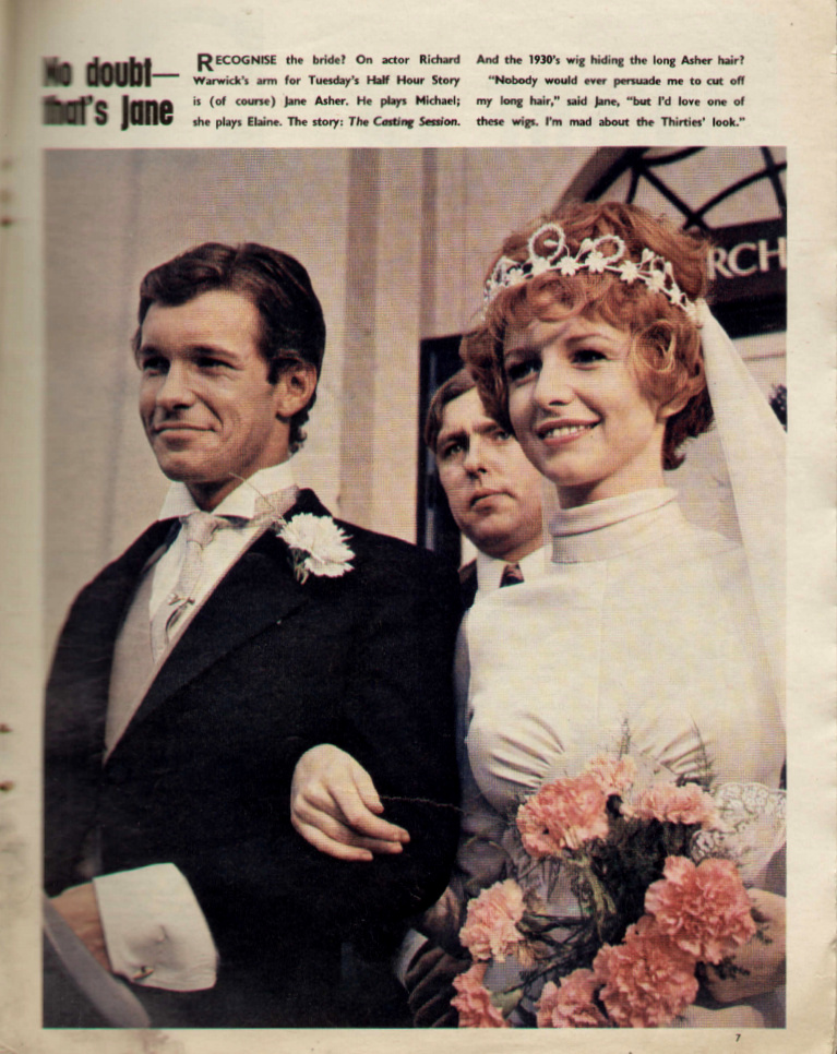Jane Asher and Richard Warwick in Half Hour Story (1967)