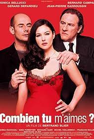 Gérard Depardieu, Monica Bellucci, and Bernard Campan in Combien tu m'aimes? (2005)