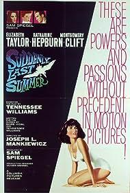 Suddenly, Last Summer Poster - Movie Forum, Cast, Reviews