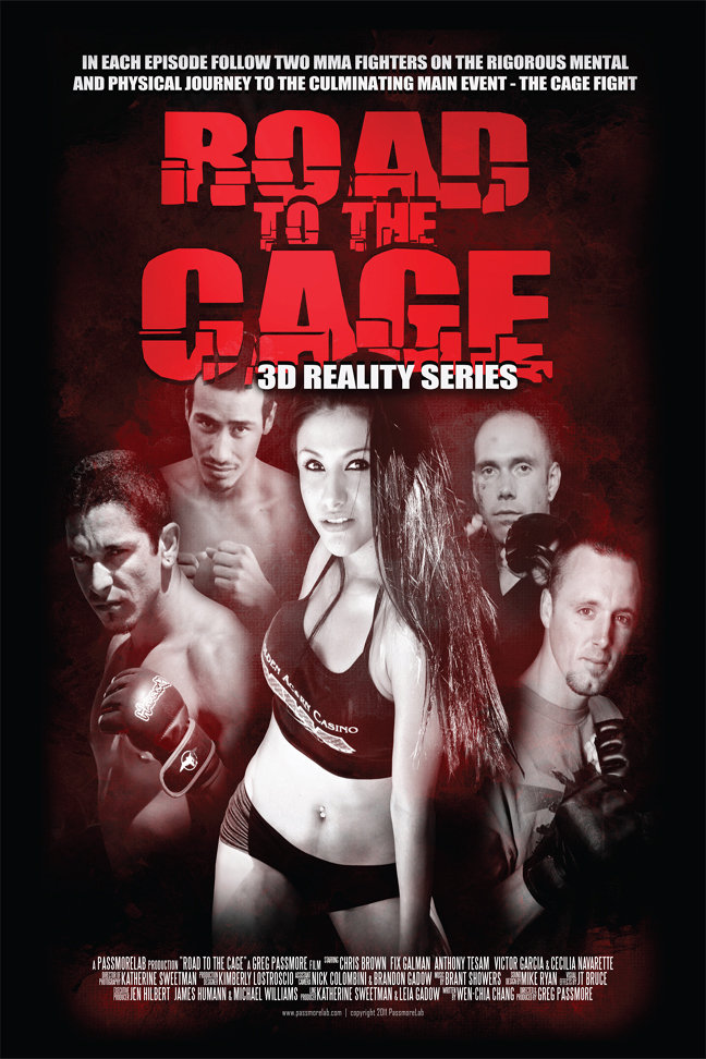 Road to the Cage 3D