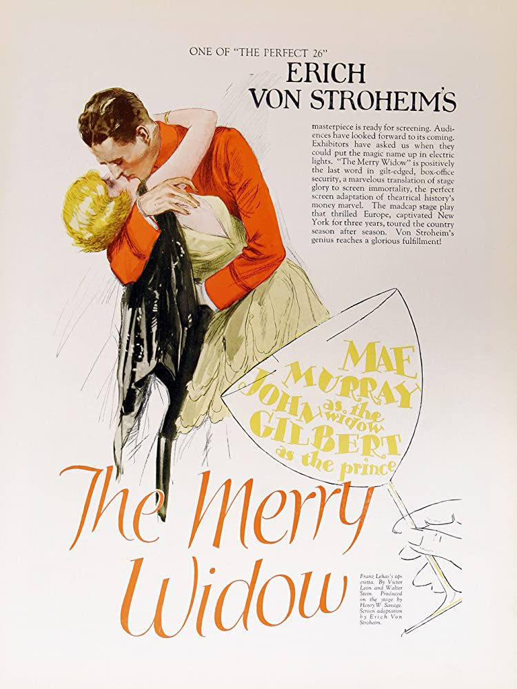 John Gilbert and Mae Murray in The Merry Widow (1925)