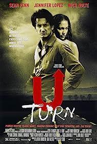 Jennifer Lopez and Sean Penn in U Turn (1997)