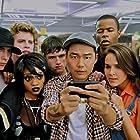 Jon Park, Josh Hutcherson, Spencer Locke, Tiffany Boone, Marque Richardson, Shanley Caswell, Parker Bagley, and A.D. Johnson in Detention (2011)