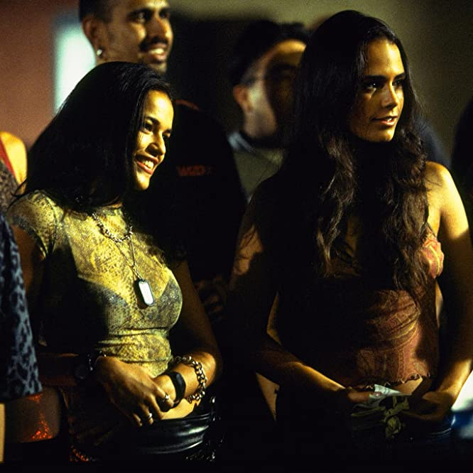 Jordana Brewster and Michelle Rodriguez in The Fast and the Furious (2001)