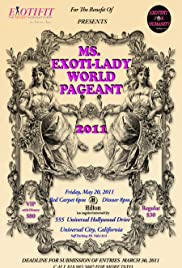 Ms. Exoti-Lady World Pageant 2011 Poster