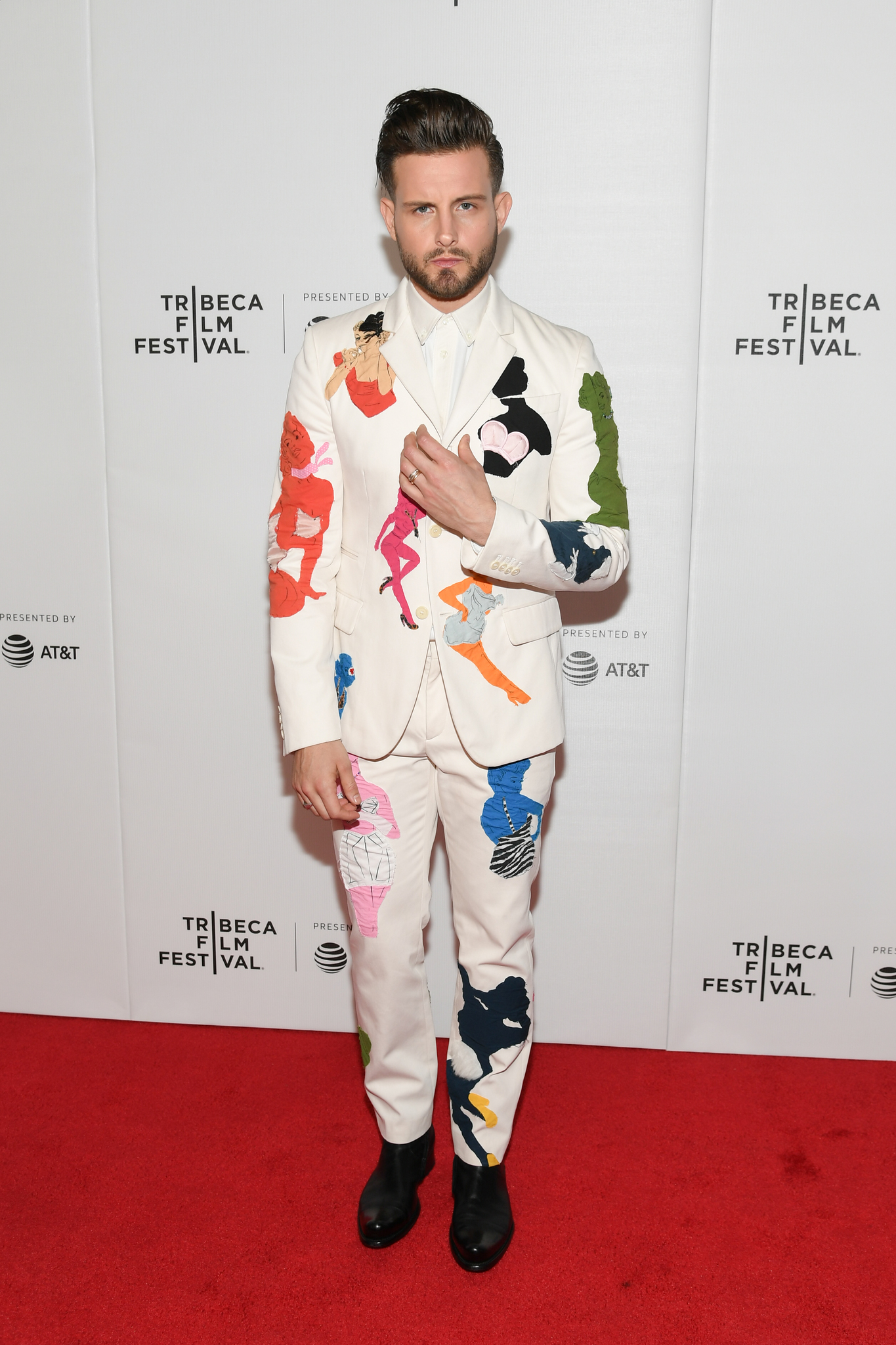 Nico Tortorella at an event for Younger (2015)