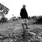Preparing for battle on a hillside outside of San Antonio, Texas.
