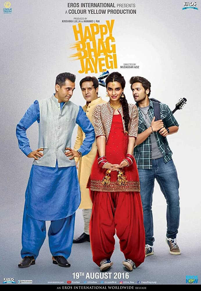 Happy Bhag Jayegi (2016) WEBRip [1080p-720p-480p] Hindi x264 AAC