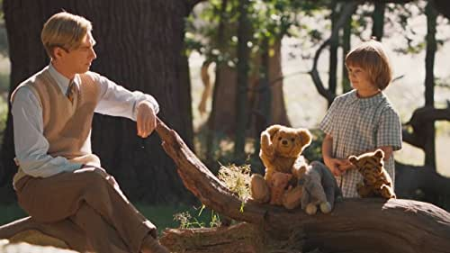 A behind-the-scenes look at the life of author A.A. Milne and the creation of the Winnie the Pooh stories inspired by his son.