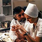 Josef Abrhám and Eliska Balzerová in Mestem chodi Mikulas (1992)