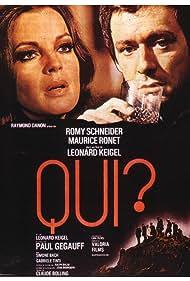 Romy Schneider and Maurice Ronet in Qui? (1970)
