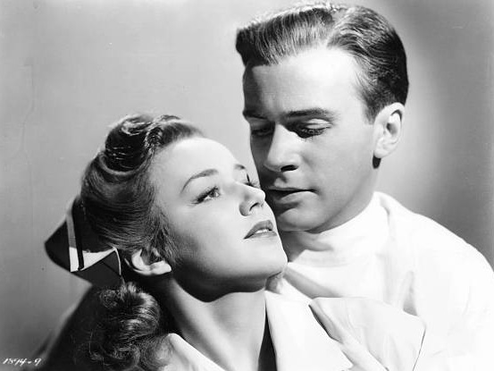 Richard Carlson and Anne Shirley in West Point Widow (1941)