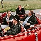 Renny Harlin, Jaajo Linnonmaa, Aku Hirviniemi, and Sami Hedberg in Luokkakokous 3 (2021)