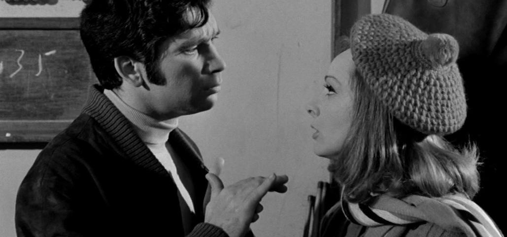 Anna Fonsou and Vangelis Ploios in Poios Thanasis! (1969)