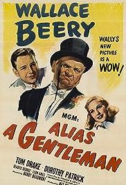 Alias a Gentleman Poster