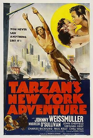 Where to stream Tarzan's New York Adventure