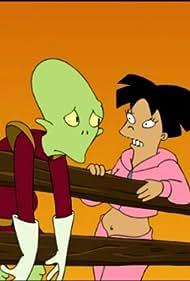 Maurice LaMarche and Lauren Tom in Futurama (1999)