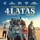 Jean Reno, Arturo Valls, Susana Abaitua, and Hovik Keuchkerian in 4 latas (2019)