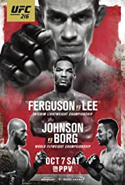 UFC 216: Ferguson vs. Lee Poster