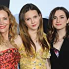 Leslie Mann, Maude Apatow, and Iris Apatow at an event for Blockers (2018)