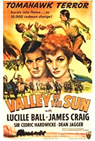 Lucille Ball, James Craig, and Dean Jagger in Valley of the Sun (1942)