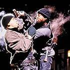 Martin Lawrence and Peter Greene in Blue Streak (1999)
