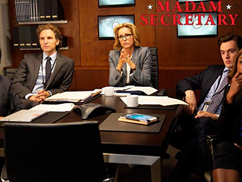 Téa Leoni, Sebastian Arcelus, Patina Miller, and Erich Bergen in Madam Secretary (2014)