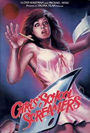 Girls School Screamers Poster