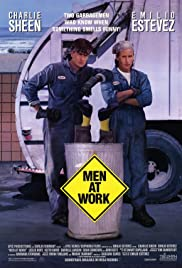 Men at Work(1990) Poster - Movie Forum, Cast, Reviews
