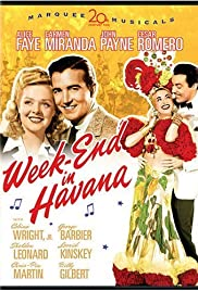 Week-End in Havana Poster