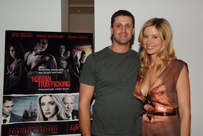 Mira Sorvino and Michael Sorvino at an event for Human Trafficking (2005)