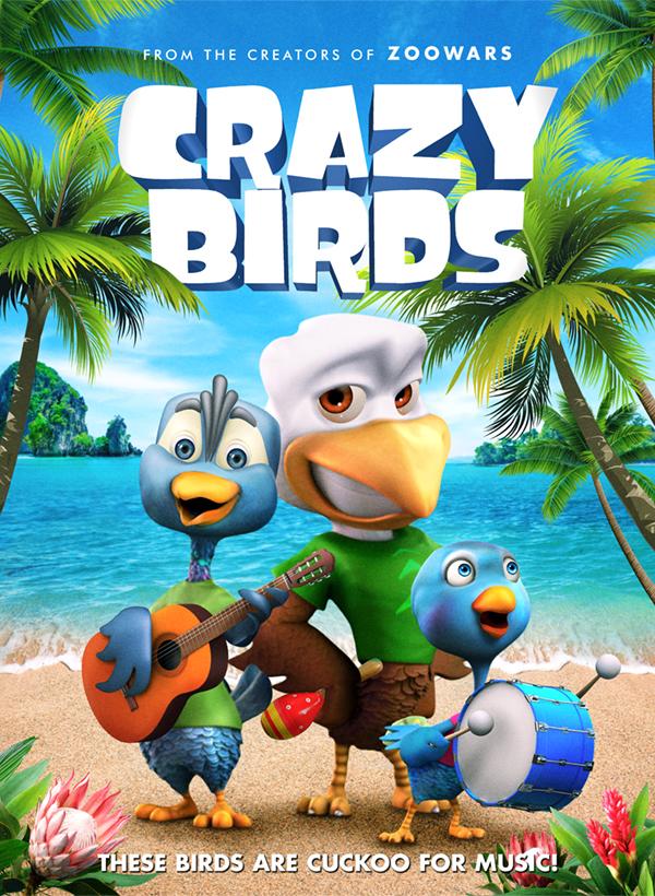 Crazy Birds 2019 full hd English 480p HDRip 300MB