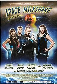 Billy Boyd, Robin Dunne, Kristin Kreuk, and Amanda Tapping in Space Milkshake (2012)