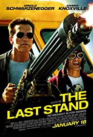 Arnold Schwarzenegger and Johnny Knoxville in The Last Stand (2013)