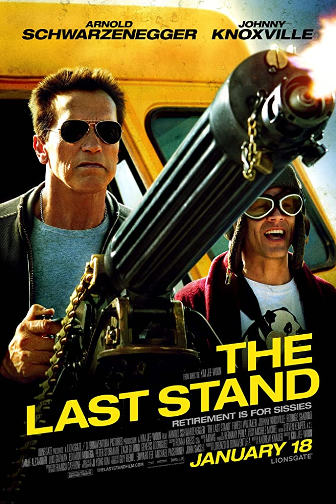 Poster film The Last Stand