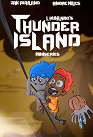 Zac Ruhland and Andre Miles in Thunder Island (2020)