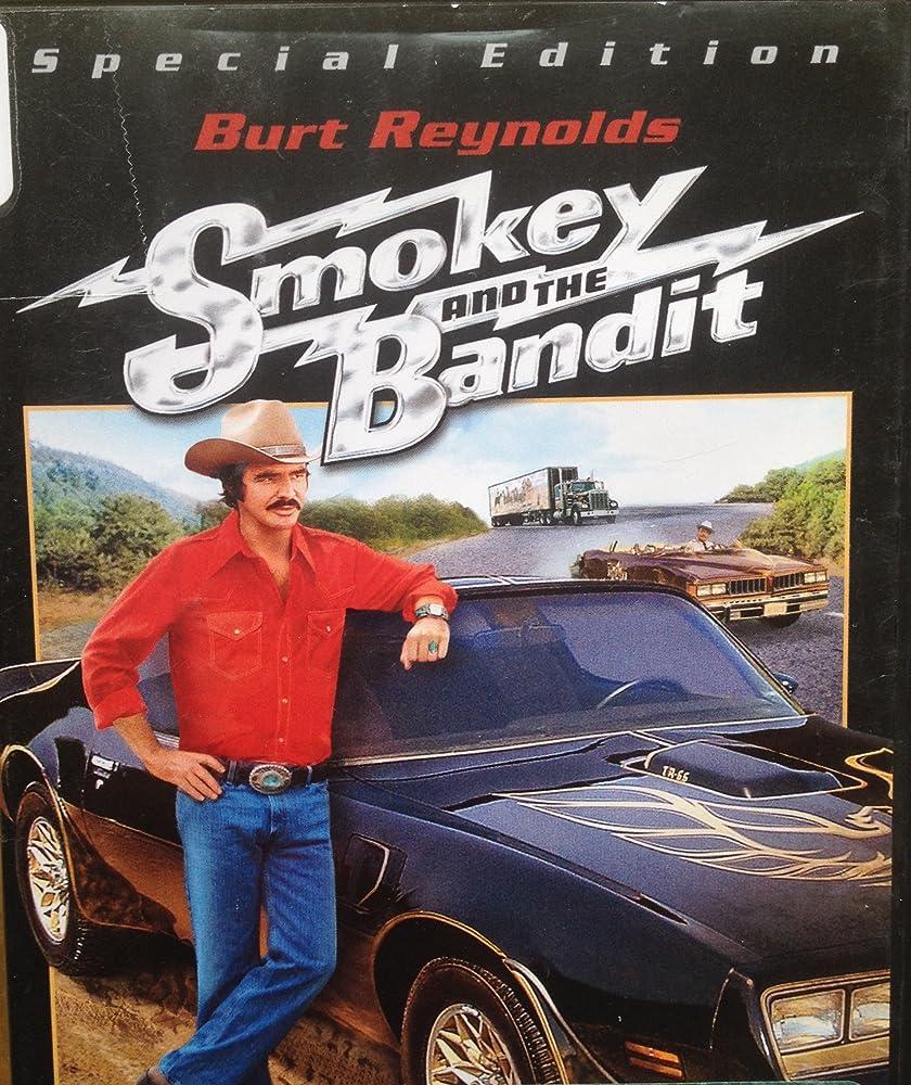 Burt Reynolds in Smokey and the Bandit 1977