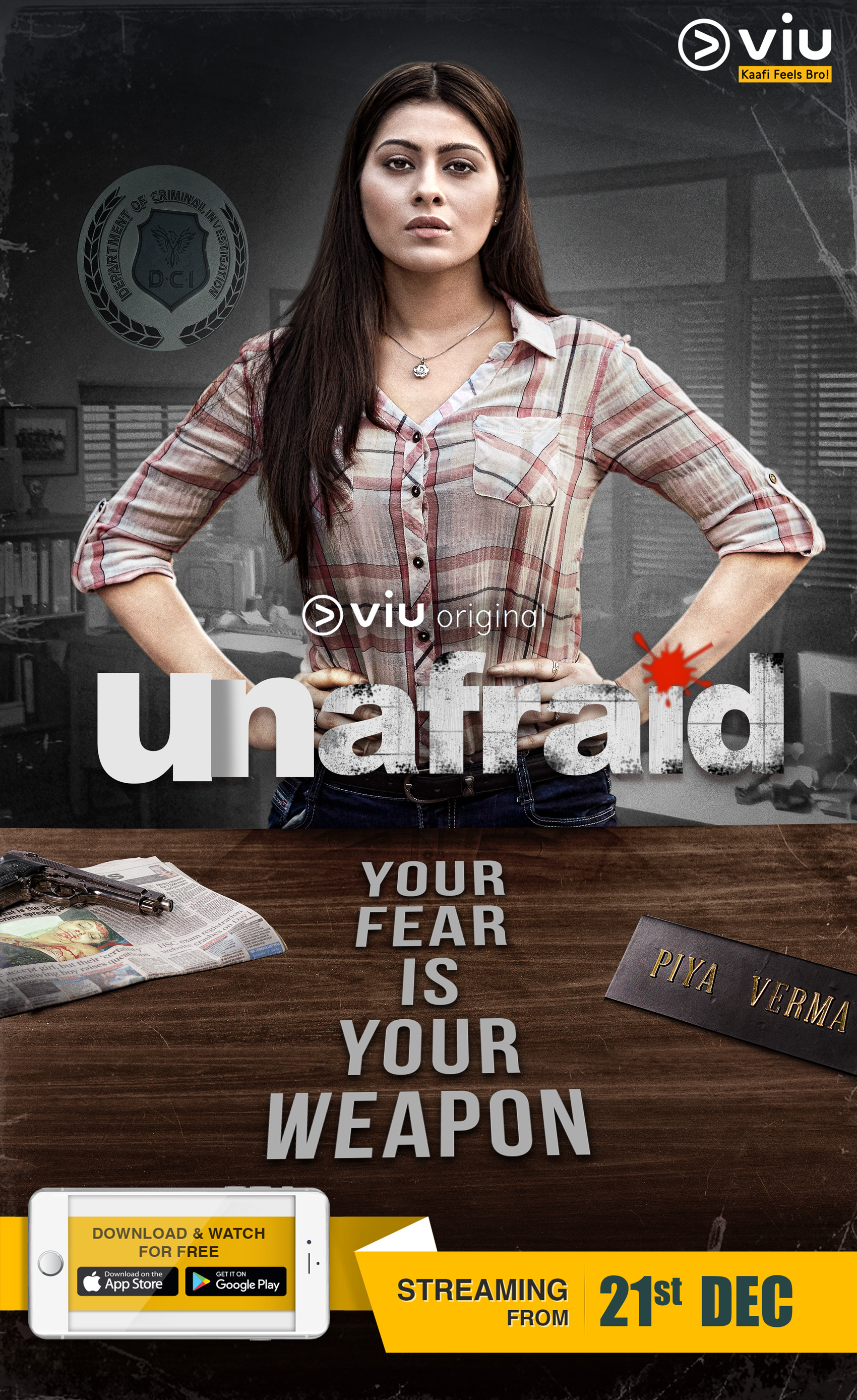 Unafraid (TV Mini-Series 2018– ) - IMDb