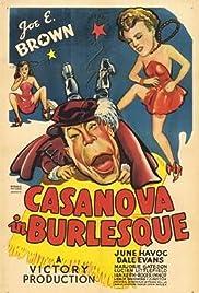 Casanova in Burlesque Poster