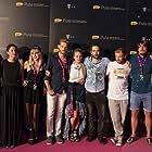 Iva Viskovic, Angelo Jurkas, Marko Cindric, Dino More, Dino Sencar, Nika Ostoic, Ines Zrnc Gregorina, and Latica Cameron at an event for Fuck Off I Love You (2017)