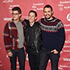 James Franco, Justin Kelly, and Charlie Carver at an event for I Am Michael (2015)