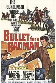 Audie Murphy, Ruta Lee, and Darren McGavin in Bullet for a Badman (1964)