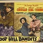 George Chesebro, Ray Corrigan, I. Stanford Jolley, John 'Dusty' King, John Merton, Max Terhune, and Elmer in Boot Hill Bandits (1942)