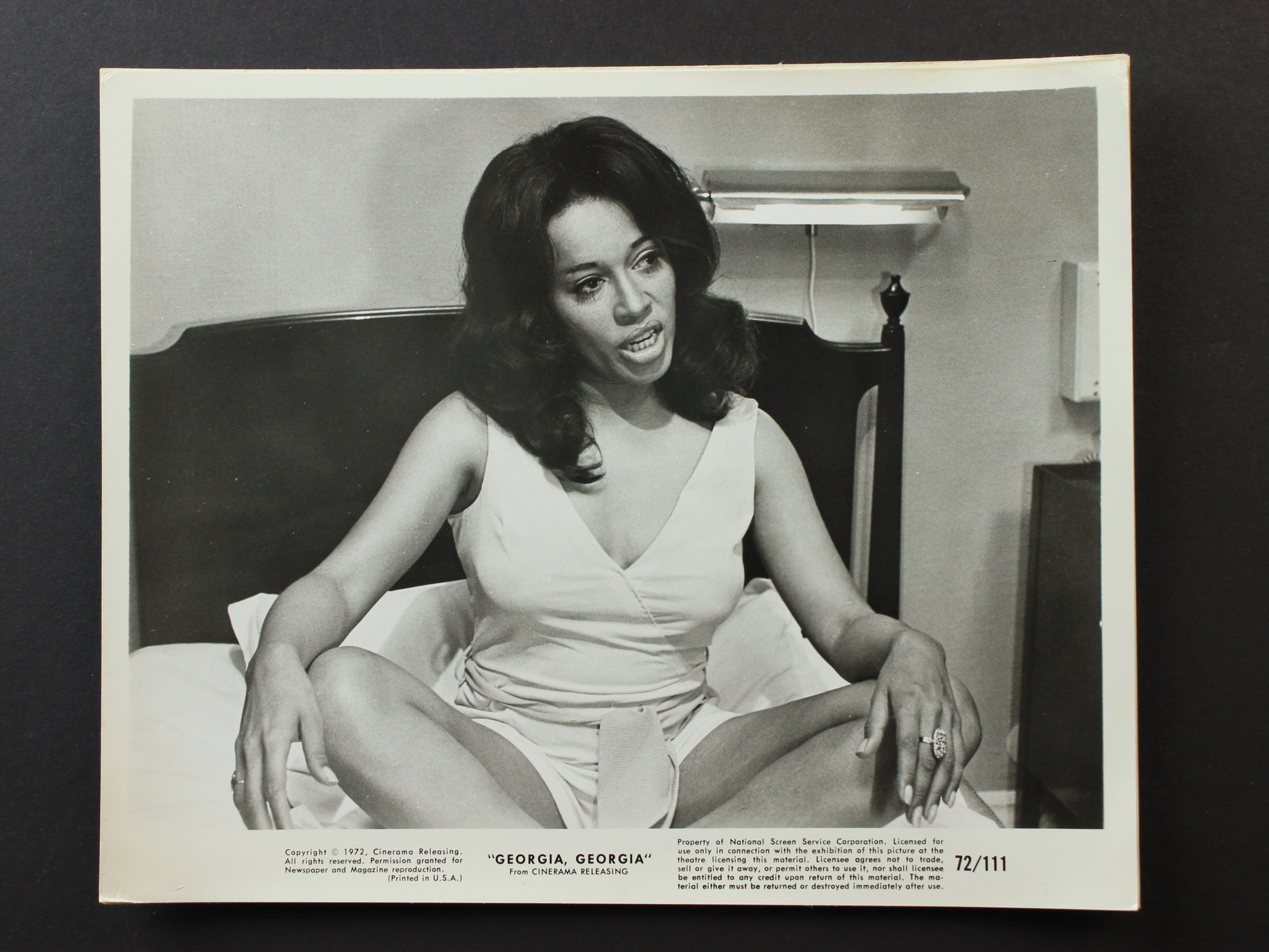 Georgia, Georgia (1972)