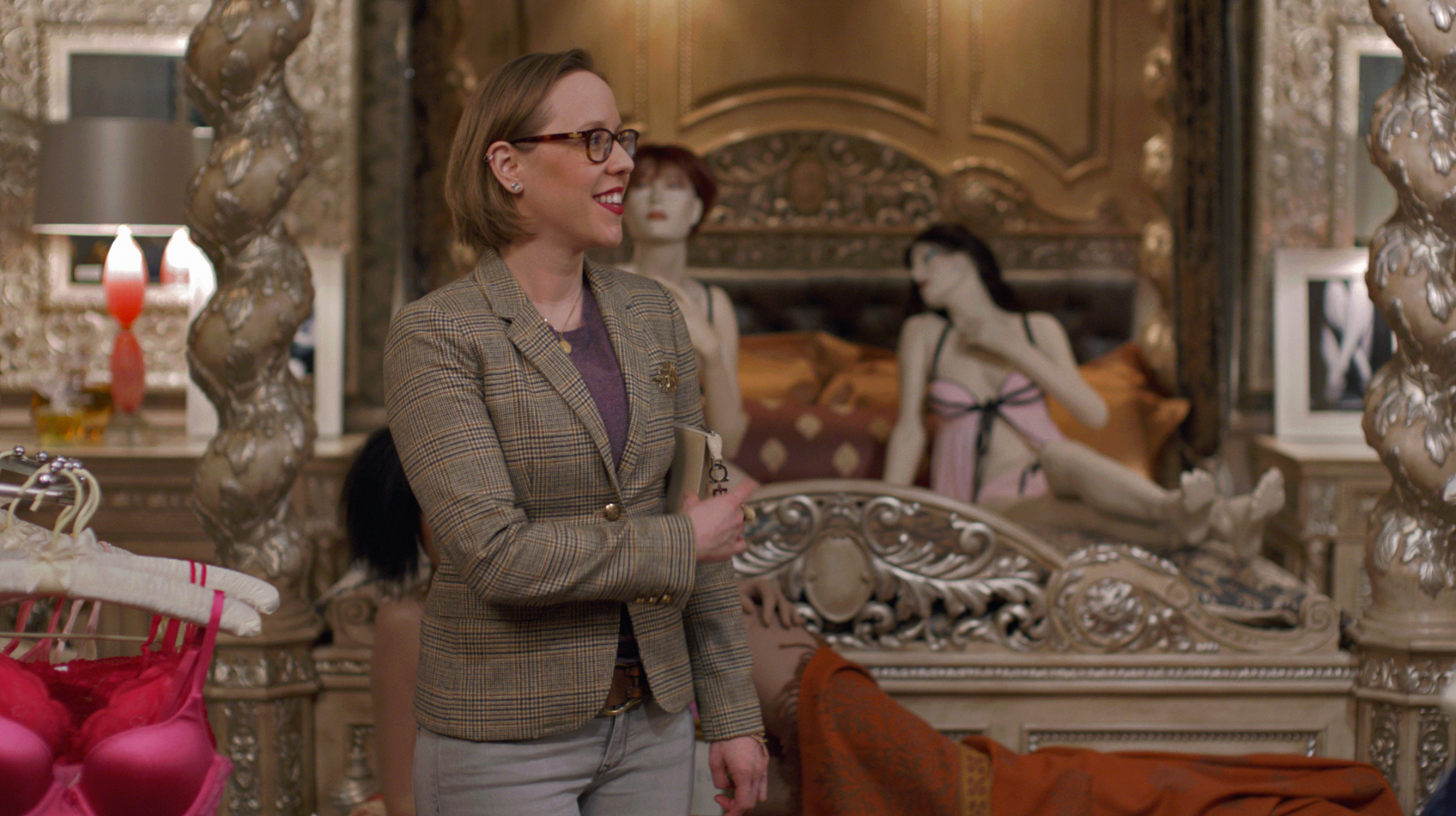 Sara Zofko On The Set Of Business Or Pleasure