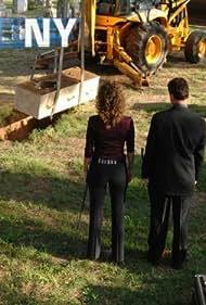 Gary Sinise and Melina Kanakaredes in CSI: NY (2004)