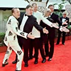 Mark Addy, Paul Barber, Steve Huison, Hugo Speer, and Tom Wilkerson at an event for The Full Monty (1997)