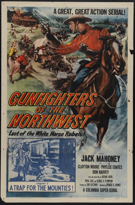 Jock Mahoney in Gunfighters of the Northwest (1954)