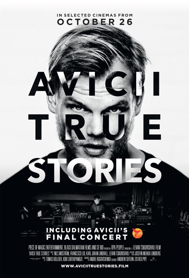 AVICII: TIKROS ISTORIJOS / Avicii: True Stories (2017)