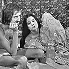 Niels Skousen and Anja Miehe-Renard in En nøgle til...? (1970)